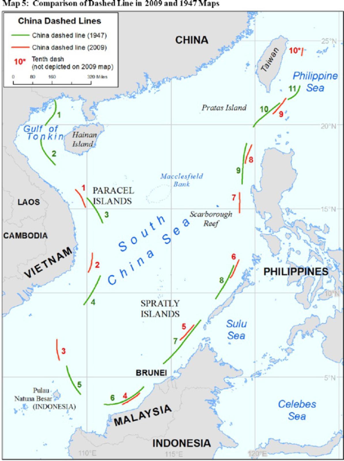 Japon establece como estrategia similar a China, limitar acceso a zonas aereas/maritimas territoriales Southseachinalimits