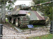 "Немецкий тяжелый танк PzKpfw V Ausf.G  ""Panther"",  rue D'Erezee, Manhay, Belgique Panther_Manhay_006"