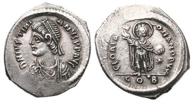 Denominación de las monedas de Bizancio. 1ª parte Miliarense