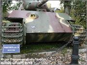 "Немецкий тяжелый танк PzKpfw V Ausf.G  ""Panther"",  rue D'Erezee, Manhay, Belgique Panther_Manhay_004"