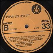 Vesna Zmijanac - Diskografija  Vesna_Zmijanac_1982_s_B