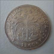 8 Soles 1860 Bolivia  Image