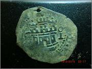 II maravedis 1586-1591. Felipe II, ceca de Cuenca CIMG2654