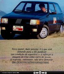 Auto Storiche in Brasile - FIAT Uno_SX_1986