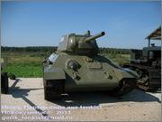 """Советский средний танк Т-34, завод № 183, III квартал 1942 года, музей """"Линия Сталина"""", Псковская область 34_183_031"""