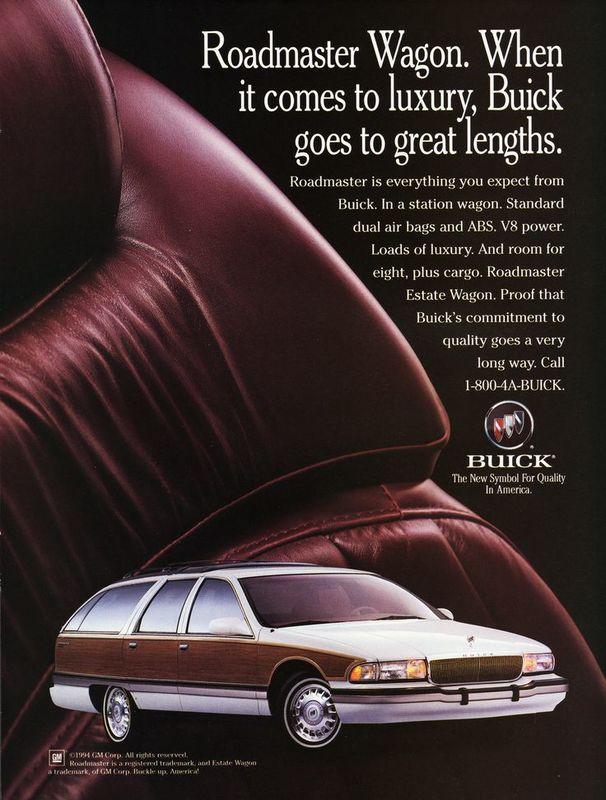 April 2017 LROM - 1994 Buick Roadmaster Roadmaster