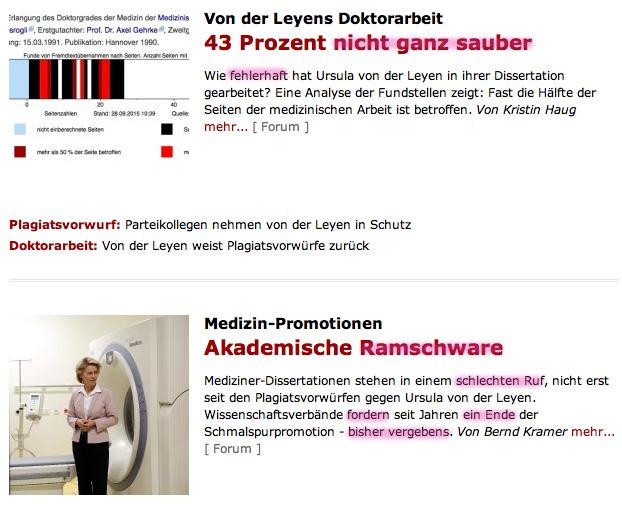 Presseschau Ursel