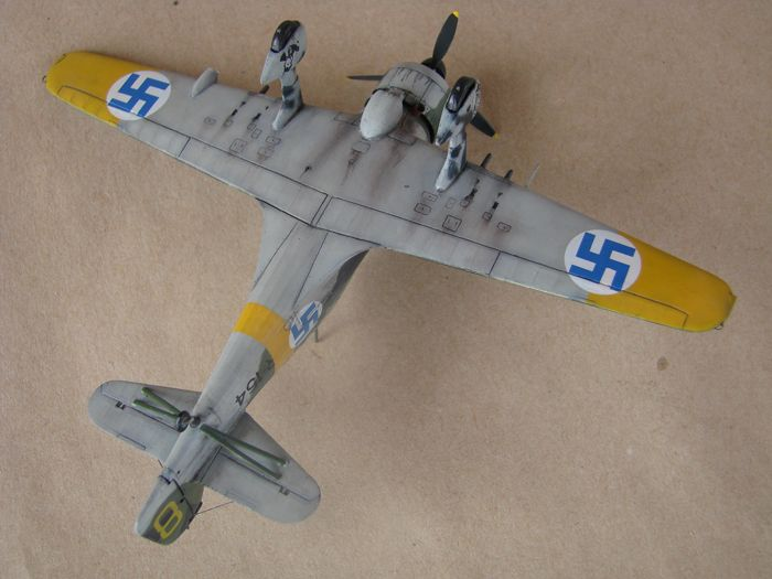 Finski Fokkeri D.XXI, Special Hobby, 1/72 DSC01502