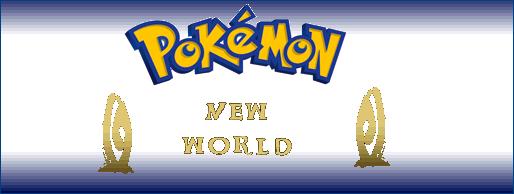 Pokémon - New World. Banner