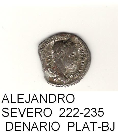 denario de Alejandro Severo año 222 - 235  IMPERIO_ROMANO_34