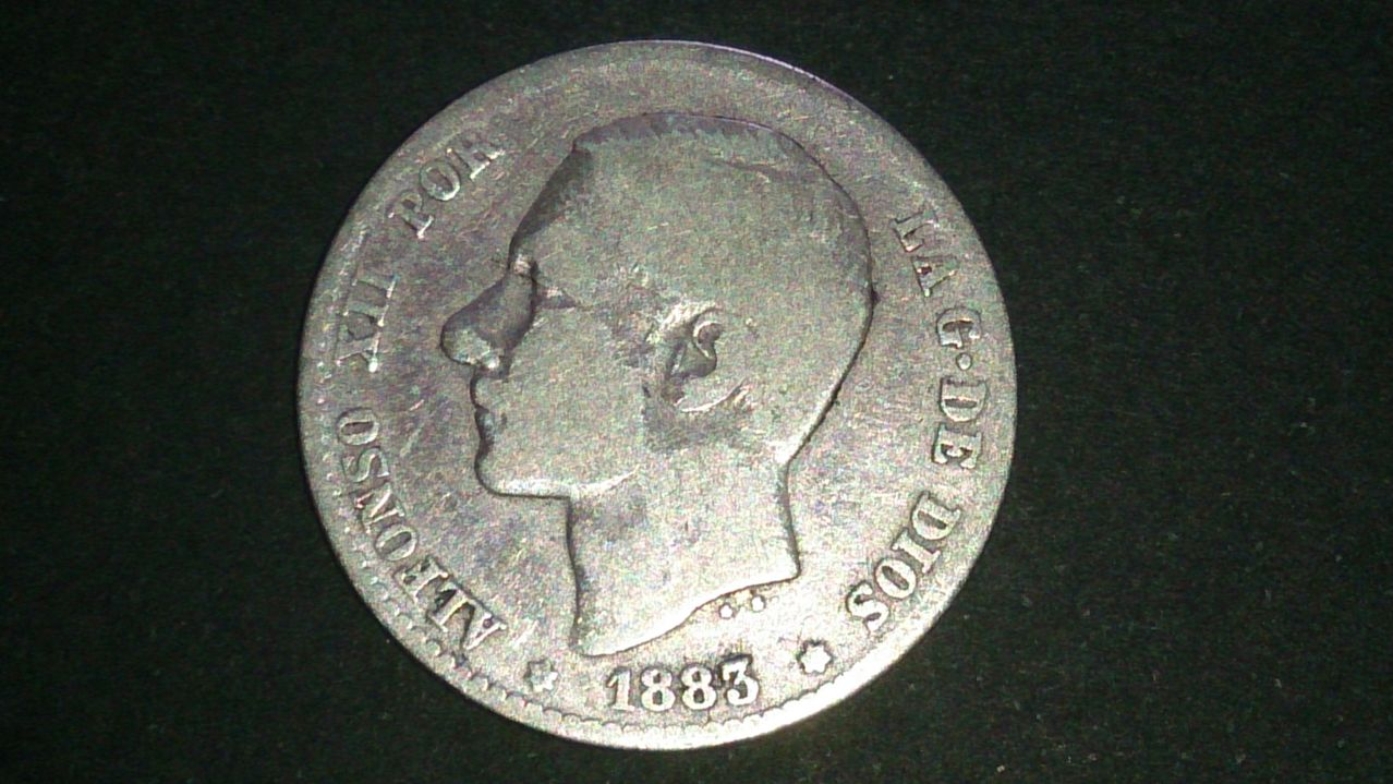 1 peseta Alfonso XII 1883 DSC_0640