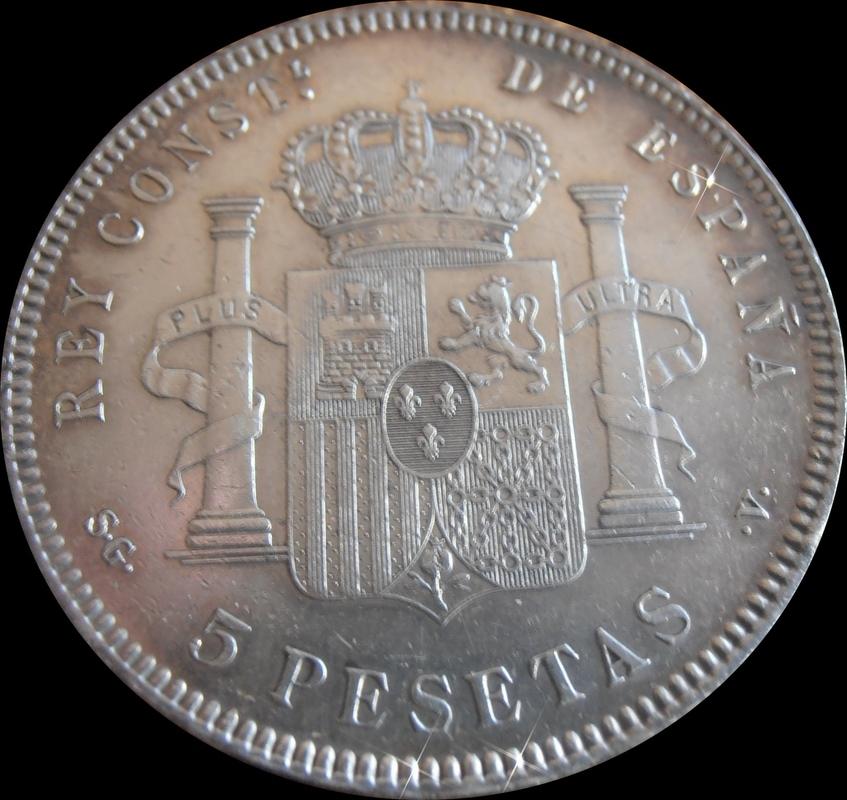 5 Pesetas 1899. Alfonso XIII 1899