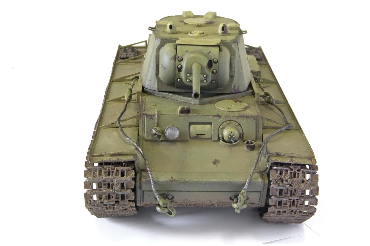 КВ 1942 года с литой башней (Trumpetr) YURA5256