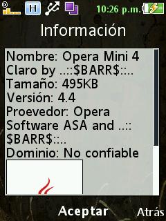 Opera Mini 4.4 Cl4R0 NI, GT, SV, HN (Para cel de Baja Gama) + Configuraciones by ..::$BARR$::.. - Página 2 Crediyos