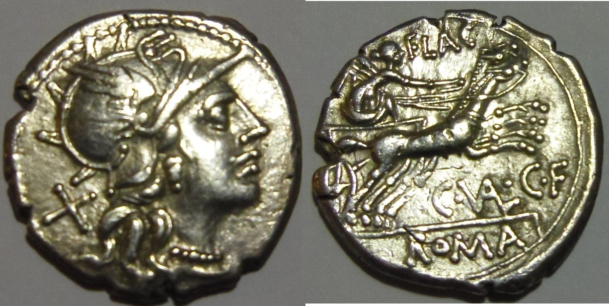 Denario. Republica de Roma. Gens Valeria. 140 A.C. Roma. Denario