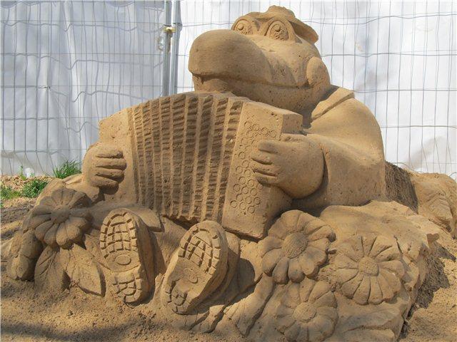 """Международный фестиваль песчаной скульптуры «Знаменитые фонтаны мира"""" Aeb451881681"""