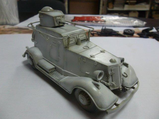 Бронеавтомобиль БА-20 Ж/Д, 1/35, (Старт). B1763d7591a9
