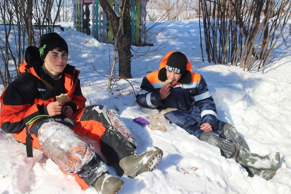 Первенство города Кургана по ловле на мормышку со льда среди юношей и девушек с 14 до 17 лет. 1e9caadb178d