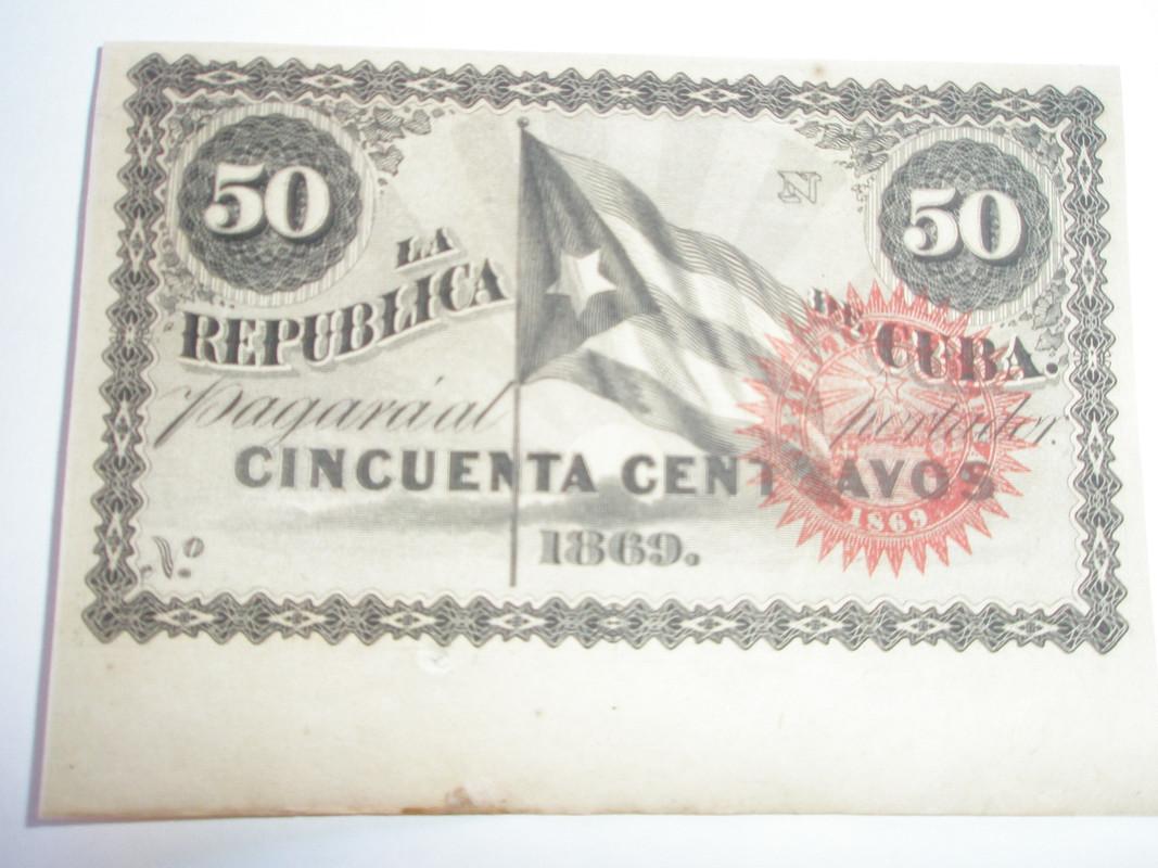 50 centavos Cuba 1869 P8160250