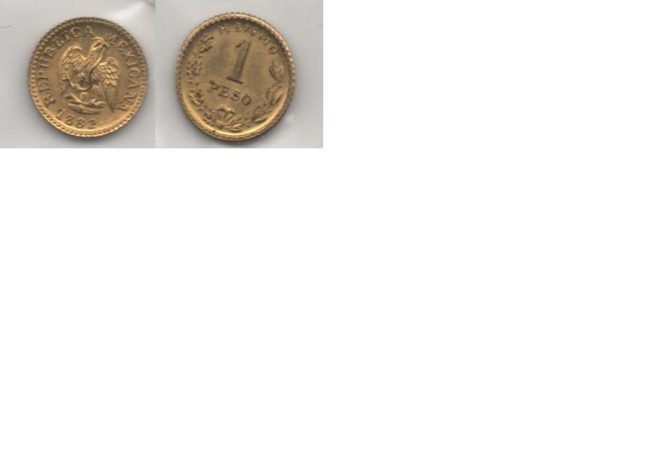 1 Peso. Mexico. 1882 1_PESO_MEXICANO_1882_JPEG