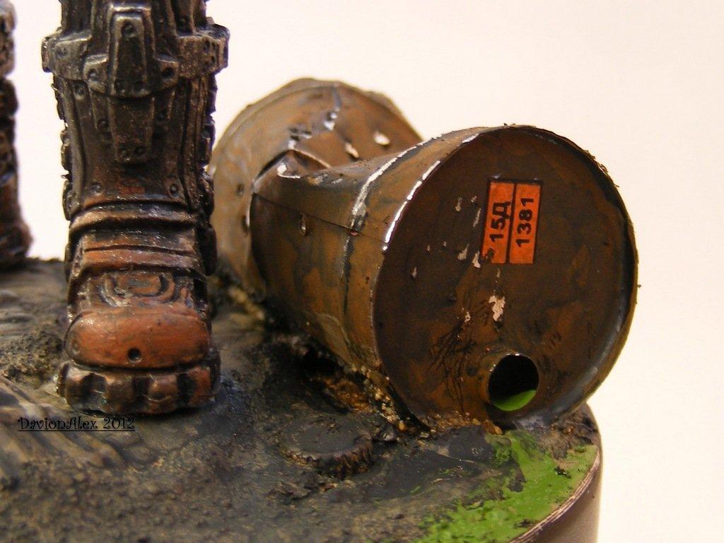 Изготовление мятой бочки. Image