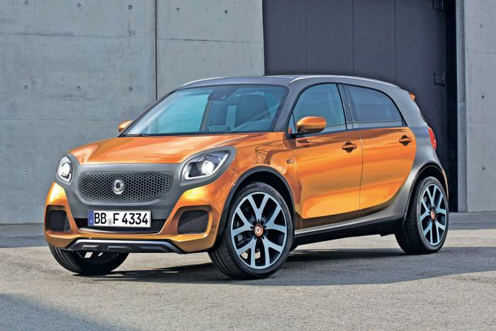 2021 - [Smart] ForFour 4x4 Smart_suv