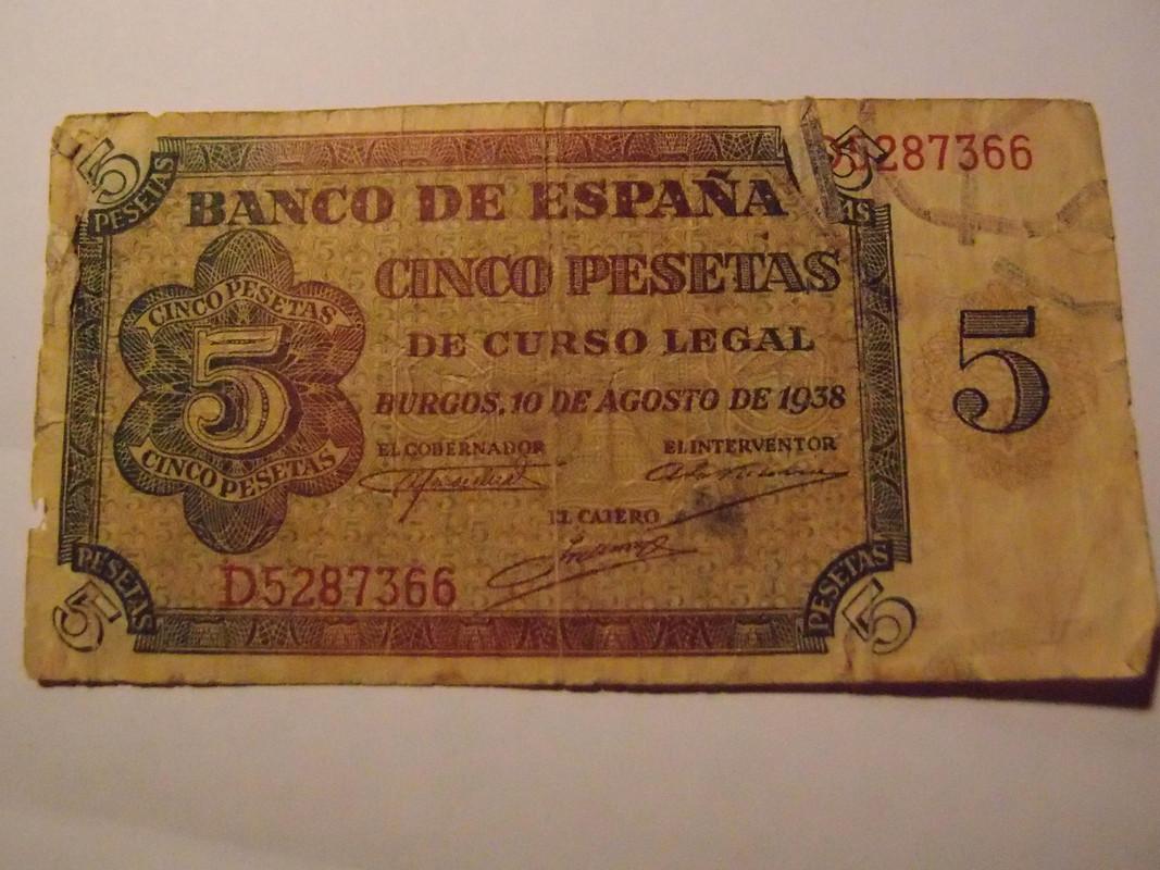 5 Pesetas 1938 P6203070