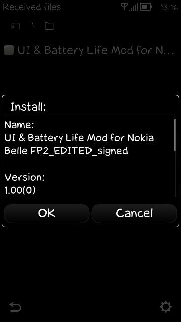 UI & Battery Life Mod за Nokia Belle FP2 Scr000015