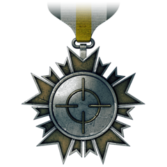Medalhas BF3 Accuracy