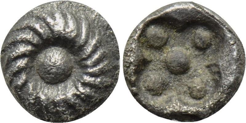 1/96 de estátera. Mileto. (Jonia). 525-494 A.C. H8h8y8y8y8y8y