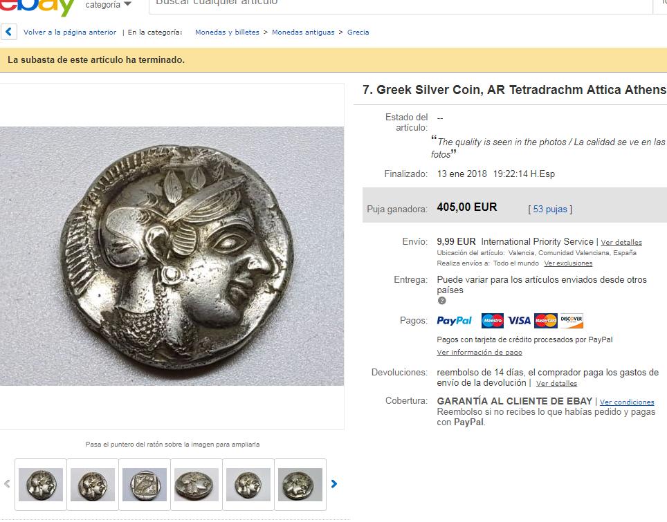 Vendedor de ebay  ancient_times Fat