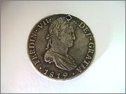 8 REALES FERNANDO VII - 1819 POTOSÍ FER_VII