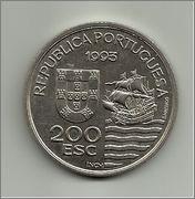 200 escudos Enviados Daimios Kiushu 1993  (Portugal) 200_escudos_enviados_Daimios_Kiushu_rever