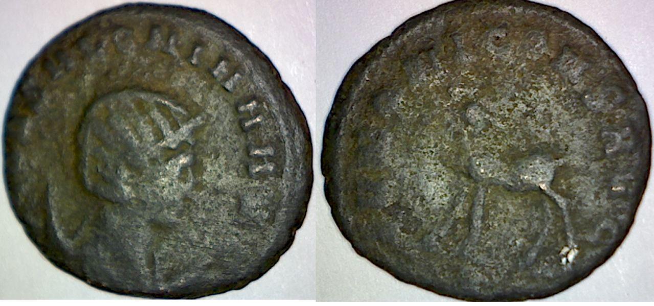 Antoniniano de Salonina. IVNONI CONS AVG. Ciervo. Ceca Roma. SALONINA_MIA