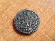 Nummus de Maximiano Hércules. GENIO POP ROM. Trier   P1400167
