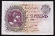 Repeticiones - 1000 Pesetas 1940 (Dedicadas a Carlos I - Serie Repeticiones 4) C11