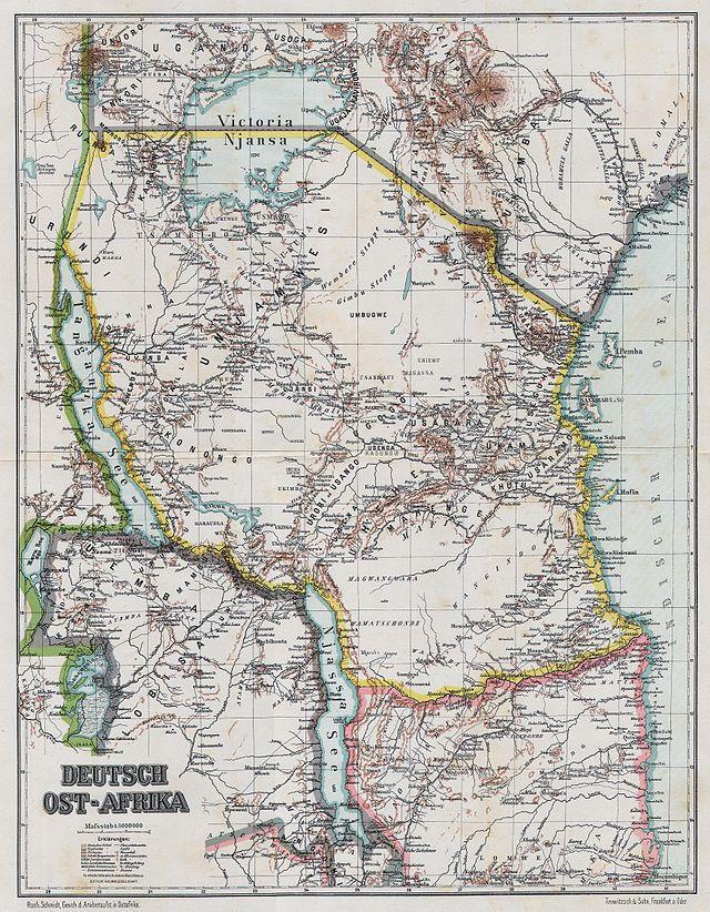 1 pesa 1892 África Oriental Alemana 640px_Deutsch_Ost_Afrika_1892