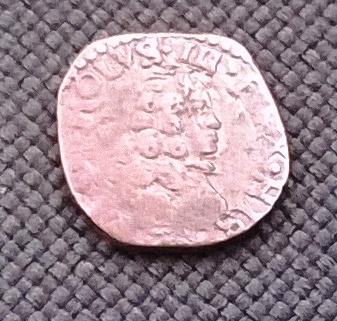 1 Cuatrino. Carlos III (Pretendiente) Milán, 1707 WP_20160112_026