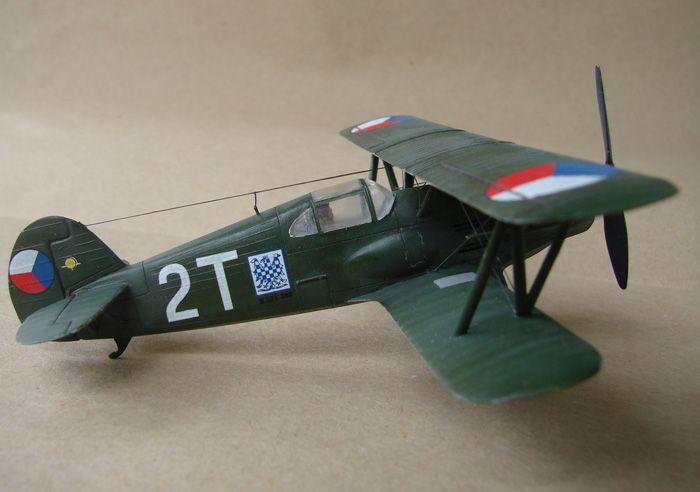 Avia B-534 serieIV., KP i RSmodels, 1/72 DSC00162