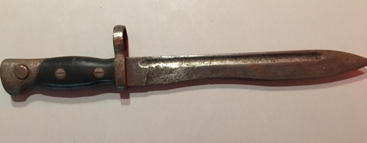 Cuchillo bayoneta para fusil CETME D8_D20_AE1-6_BE2-4_F00-898_C-_C6_B33_D9_B0_A4_D