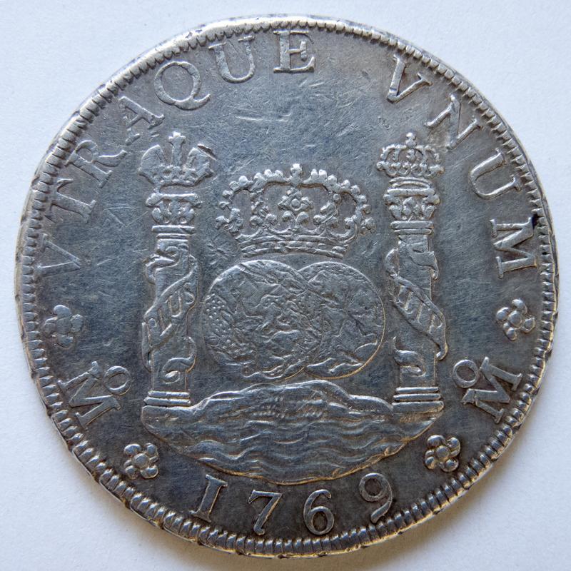 8 reales 1769 México P1030440-1