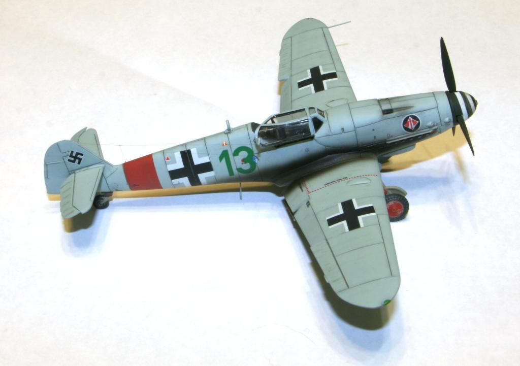 "Bf-109 g-6AS W.Oesau ""Az model"" 1/72 IMG_3393"