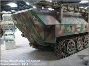 Немецкий средний бронетранспортер SdKfz 251/7  Ausf D,  Musee des Blindes, Saumur, France 251_7_Saumur_071