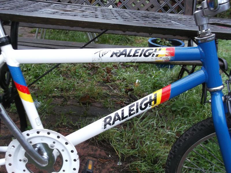 BMX Raleigh Panther DSCF1521