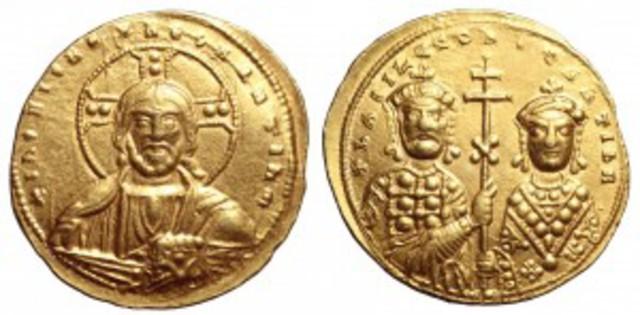 Denominación de las monedas de Bizancio. 1ª parte Tetarteron_1