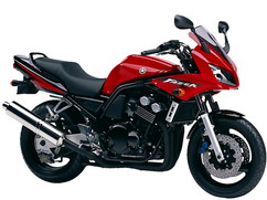 Orígen, historia y evolución | Yamaha FZ6 - Fazer 2003_Rojo