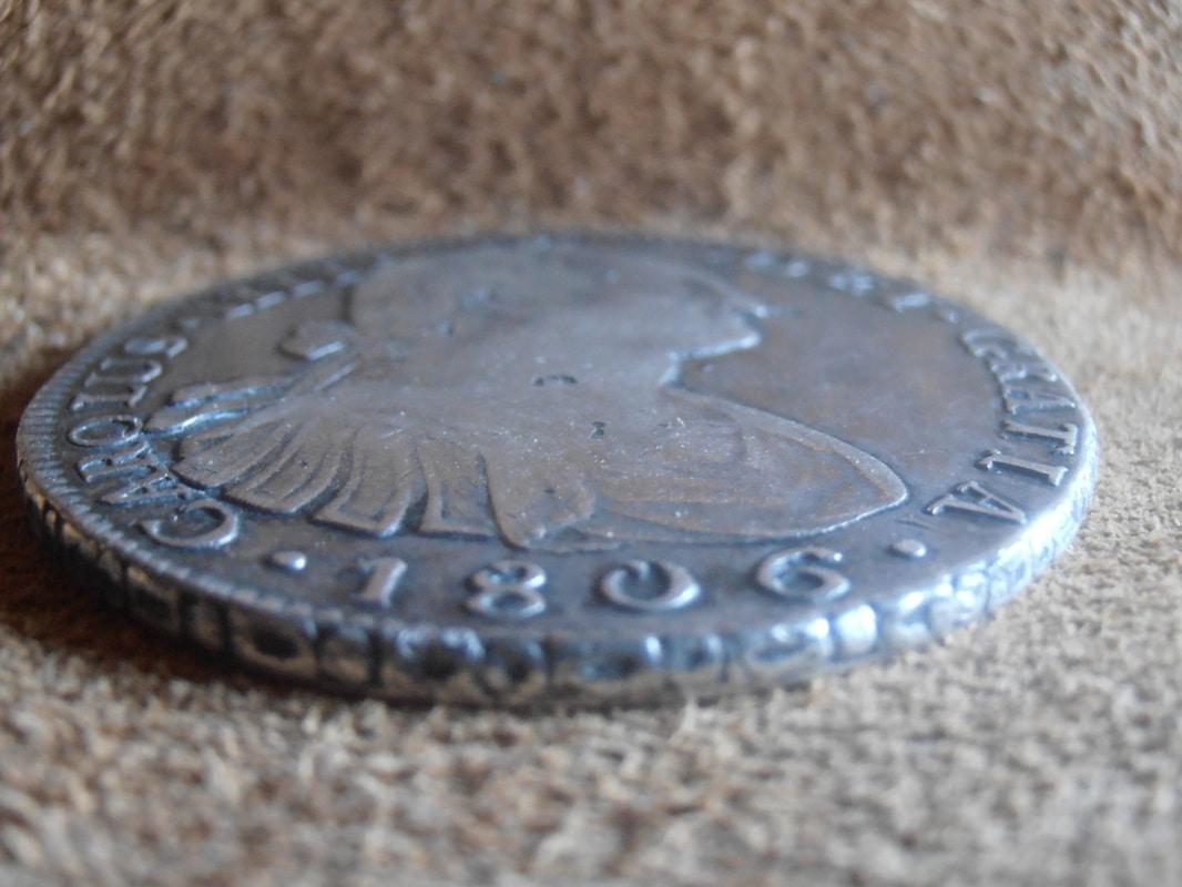 8 reales 1806. Carlos IV. Potosí P8248609