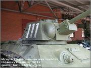 Советский средний танк ОТ-34, завод № 174, осень 1943 г., Военно-технический музей, г.Черноголовка, Московская обл. 34_090