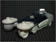 FUJIMI Police Spinner + Custom Set (Blade Runner) 13_FSpinner_unpa