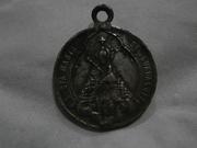 Medalla Virgen de Guadalupe / Sagrado Corazón de Jesús s.XX Medalla2